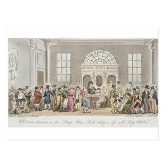 Caractères bien connus dans la salle de pompe, carte postale
