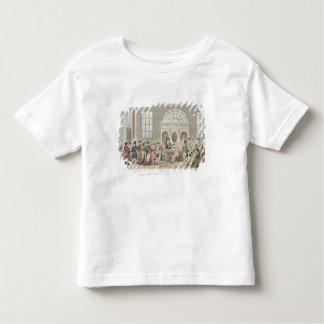 Caractères bien connus dans la salle de pompe, t-shirt pour les tous petits