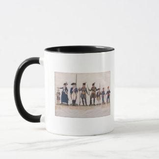 Caractères de la révolution française mug