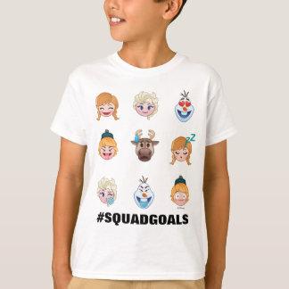 Caractères gelés d'Emoji T-shirt