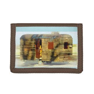 caravane gitane en bois patinée