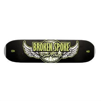 Carbone Skatedeck v.ps de BSRS Skateboard Customisable