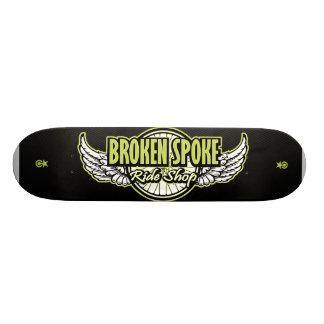 Carbone Skatedeck v.ps de BSRS Skateboards Personnalisés
