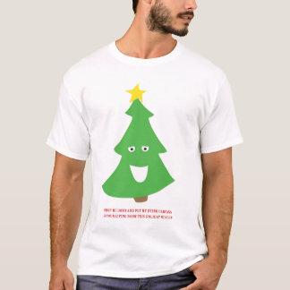 Carcasse d'arbre de Noël T-shirt