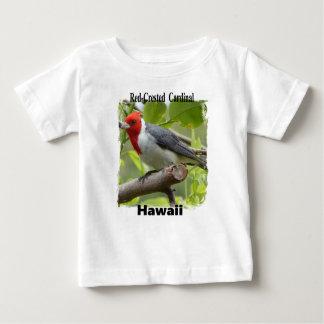 Cardinal à crête rouge t-shirt pour bébé