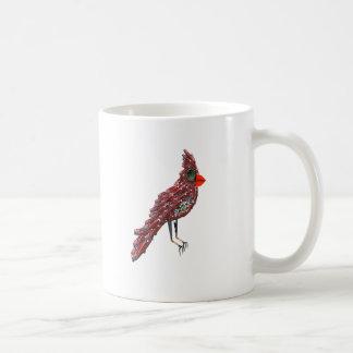 Cardinal d'imaginaire de la science-fiction de mug blanc