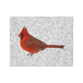 Cardinal géométrique toiles