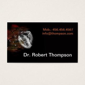 Cardiologue/cardiologie/cardio- clinique privée cartes de visite