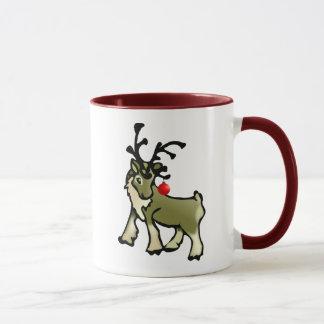Caribou de Noël Mug
