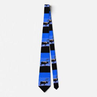 Caribou en hiver cravate