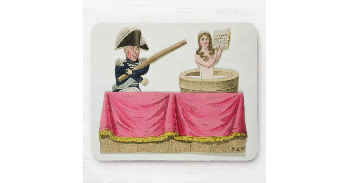 Caricature de la charte constitutionnelle tapis de souris for Surface minimum bureau code du travail