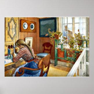 Carl Larsson - correspondance Posters