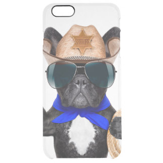 carlin de cowboy - cowboy de chien coque iPhone 6 plus