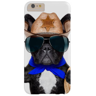 carlin de cowboy - cowboy de chien coque iPhone 6 plus barely there