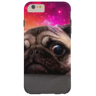 carlin de l'espace - nourriture de carlin - coque iPhone 6 plus tough