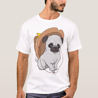 Carlin dessinant 2 par Pablo Fernandez T-shirt