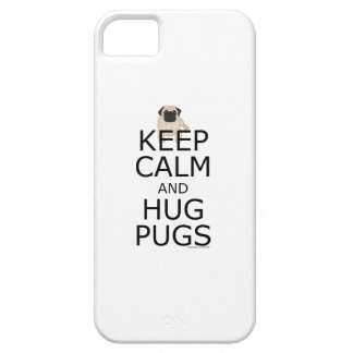Carlin : Gardez le slogan calme de carlins Coque iPhone 5 Case-Mate