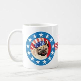 Carlin patriotique mug