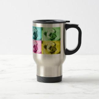 Carlin «pop sorte» plus thermobecher mug de voyage en acier inoxydable
