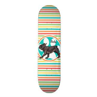 Carlin Rayures lumineuses d arc-en-ciel Skateboards