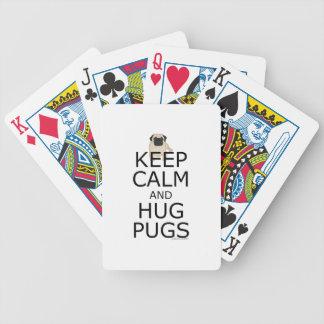 Carlins : Gardez le carlin calme Cartes À Jouer