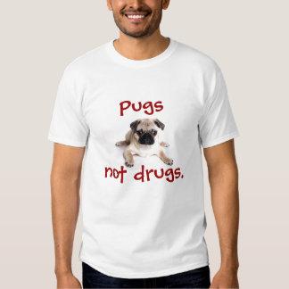 Carlins, pas drogues t-shirts