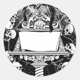 Carlos Neve, illustration de livre circa le Sticker Rond
