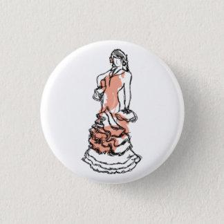 Carmen dans une plaque badges