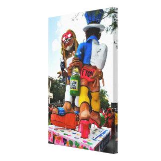 Carnaval de Martinique, Le VAVAL Toile