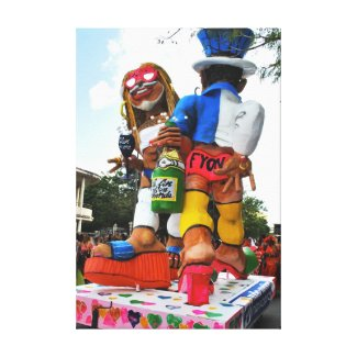 Carnaval de Martinique, Le VAVAL Toiles