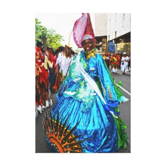 Carnaval de Martinique, Reine Toiles