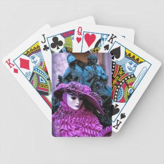 Carnaval vénitien jeux de cartes