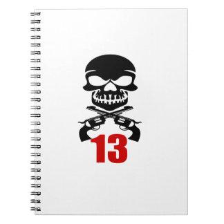 Carnet 13 conceptions d'anniversaire