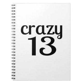 Carnet 13 conceptions folles d'anniversaire