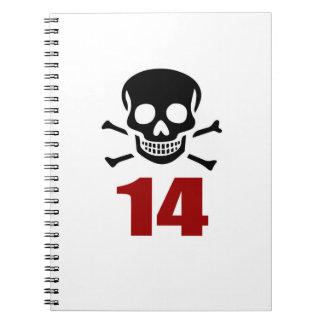 Carnet 14 conceptions d'anniversaire
