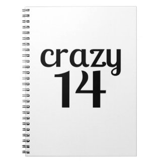 Carnet 14 conceptions folles d'anniversaire