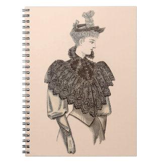 Carnet 1897 femmes victoriennes
