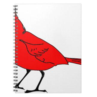 Carnet #2 cardinal