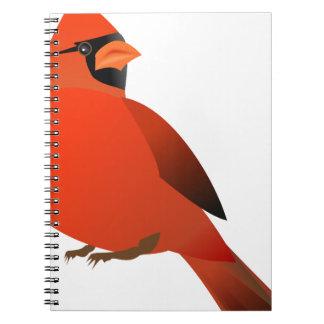 Carnet #3 cardinal