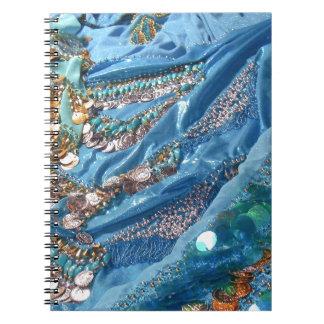 Carnet 50 nuances de turquoise