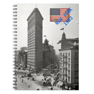 Carnet (80 pages B&W) New York 1903