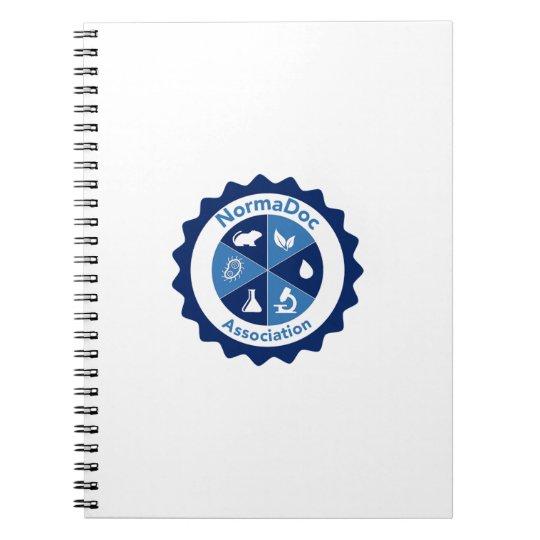 Carnet 80 pages - Logo NormaDoc Bleu