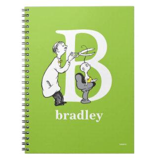 Carnet ABC de Dr. Seuss's : Lettre B - Le blanc |