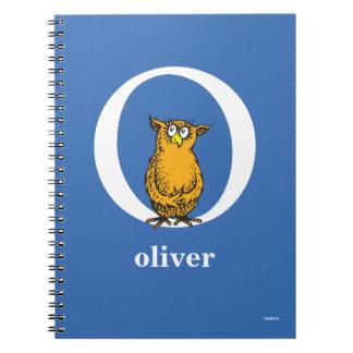 Carnet ABC de Dr. Seuss's : Lettre O - Le blanc |
