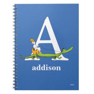 Carnet ABC de Dr. Seuss's : Marquez avec des lettres A -