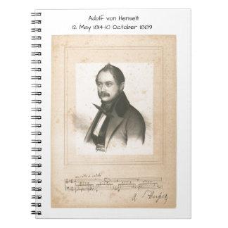 Carnet Adolf von Henselt