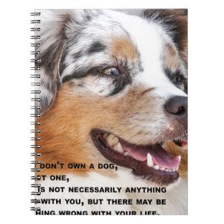 Carnet Aimez un bon chien