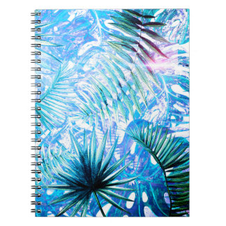 Carnet Aloha paume de BlueTropical et jardin de Monstera