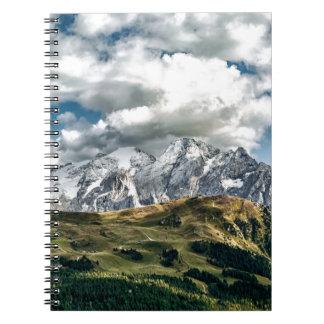 Carnet Alpes de dolomites, Italie