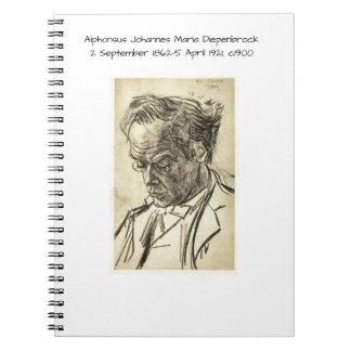 Carnet Alphons Johannes Maria Diepenbrock 1900